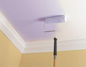 Краска для потолка и пола: матовая или глянцевая?