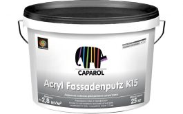 Capatect Standard  Acryl Fassadenputz K15 25кг.