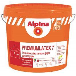 Alpina EXPERT Premiumlatex 7 B1 10л.