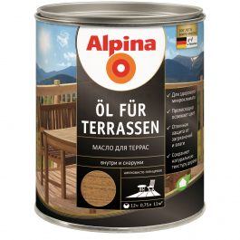 Alpina Oel Terrassen TR 2,5л.