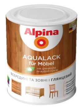 Alpina Aqualack fur Möbel 0,75л.