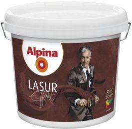 Alpina Effekt Lasur Silber (з ефектом срібла) 2,5л.