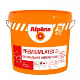 Alpina EXPERT Premiumlatex 3 B1 10л.